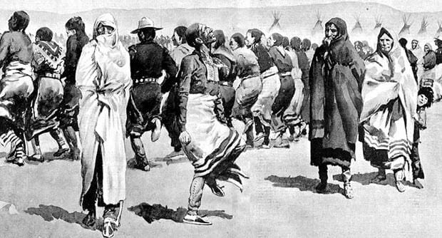 Depiction of the Ghost Dance Movement
