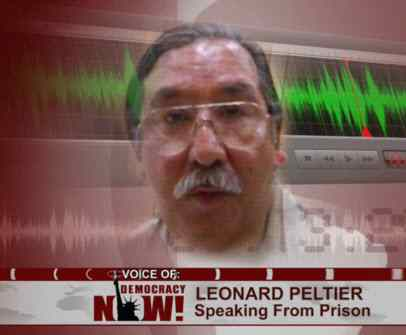 Peltier pushes for amnesty from prison