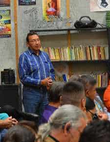 reservation residents voice concerns over living conditions