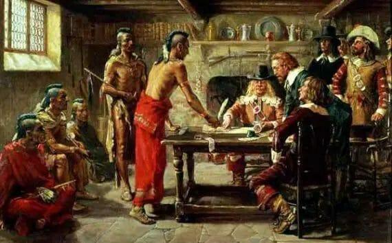 treaty at new amsterdam